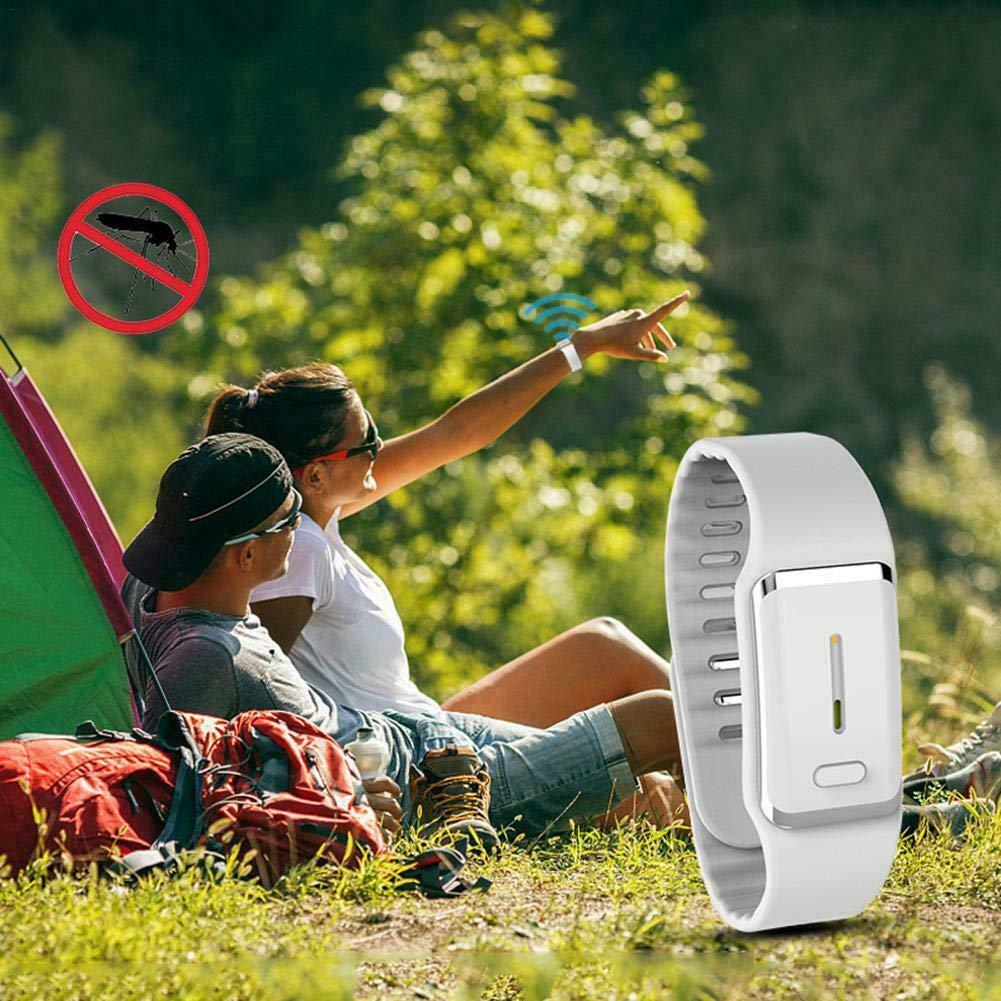 M/ückenschutz Armb/änder Tragbare Tragen Ultraschall Insekten und Insektenschutzb/änder Schutzarmband M/ückenschutz Insektenschutz f/ür Kinder und Erwachsene