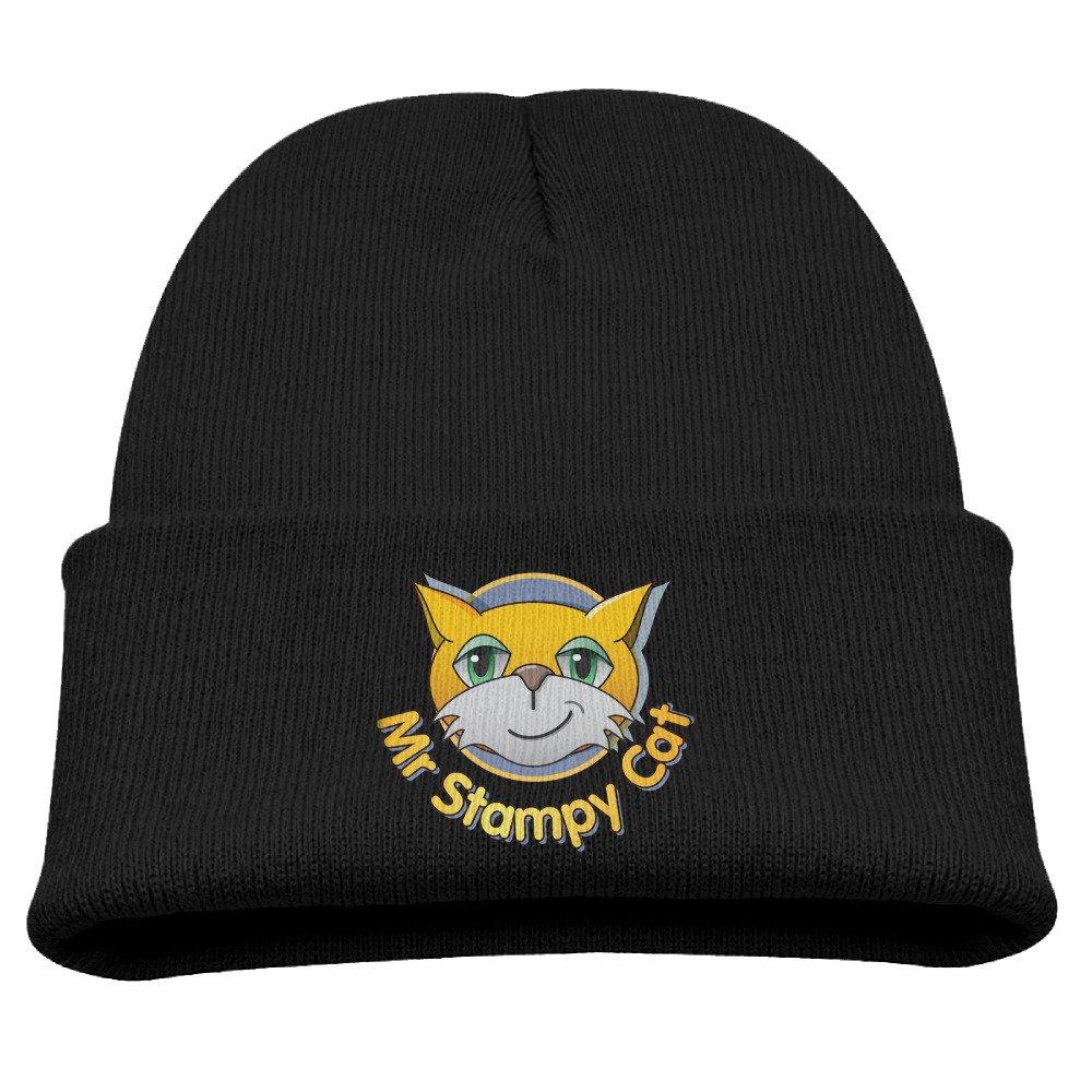 Harrietoop Skull Beanie Caps Stampy Cat Logo Fashion Boys/Girls
