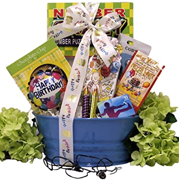 Amazon Great Arrivals Kids Birthday Gift Basket For Boys Ages