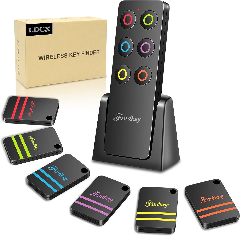 Key Finders Make Noise Tv Remote Control Finder Item Rf Locator Pet Tracker (2020 Upgrade 6 Receivers)