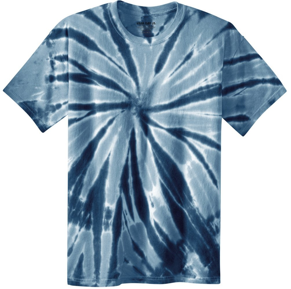 Koloa Surf (tm) Youth Colorful Tie-Dye T-Shirt,S-Navy