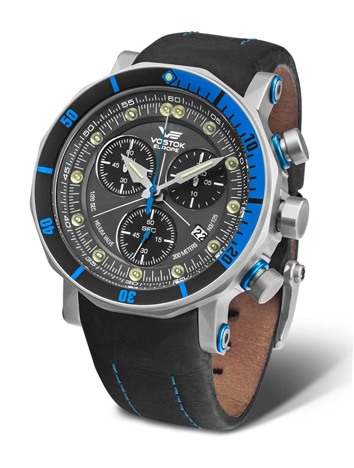 Vostok Europe Herrenuhr Lunokhod 2 Grand Chrono 6S30-6205213