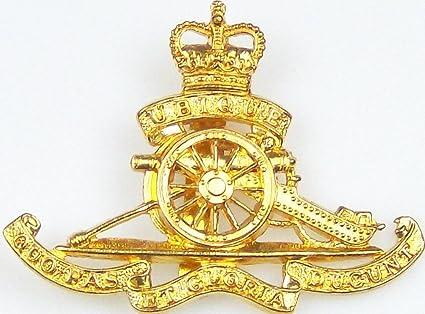 e53d73709d0d Royal Artillery (QC) Cap Badge: Amazon.co.uk: Kitchen & Home