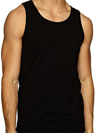 2fb3f7eadd5f9 Pack of 3 Mens 100% Cotton Summer Weight Singlet Vests Underwear Mixed  Colours Available in sizes Small Medium   Large X Large XX Large   Amazon.co.uk  ...