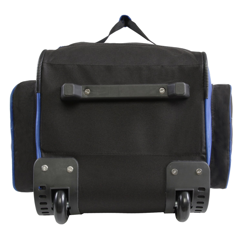 Fila 26'' Lightweight Rolling Duffel Bag, Blue, One Size by Fila (Image #3)