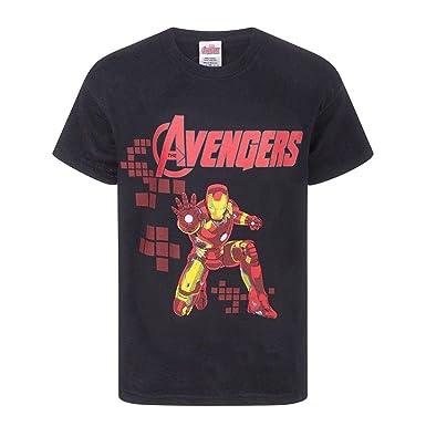Abbigliamento E Accessori Bambini 2 - 16 Anni 2019 Fashion T-shirt Maglia Iron Man Marvel Avengers Originale Tutte Le Taglie Disponibili