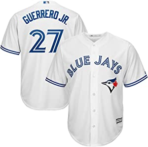 Outerstuff Vladimir Guerrero Jr. Toronto Blue Jays Youth 8-20 White Home Cool Base Replica Jersey