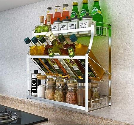 WYYF Bancone da Cucina E Mobile Armadio A Microonde in ...