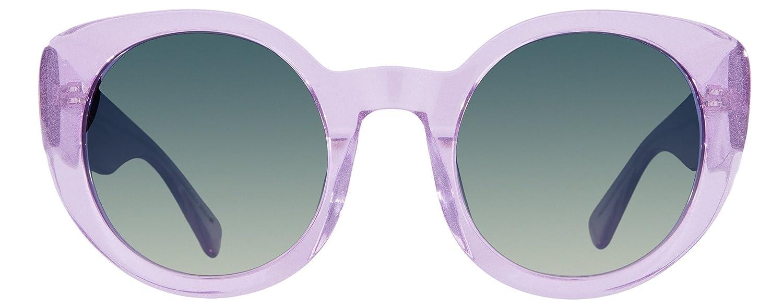 3f298196ec Amazon.com  DIFF Eyewear  Luna - Designer Round Sunglasses - 100% UVA UVB   Clothing