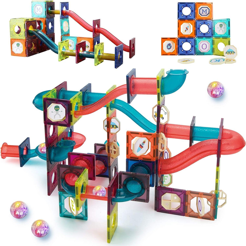 20D Clear Magnets Toys 20 PCS Light Magnetic Tiles Magnetic Blocks ...