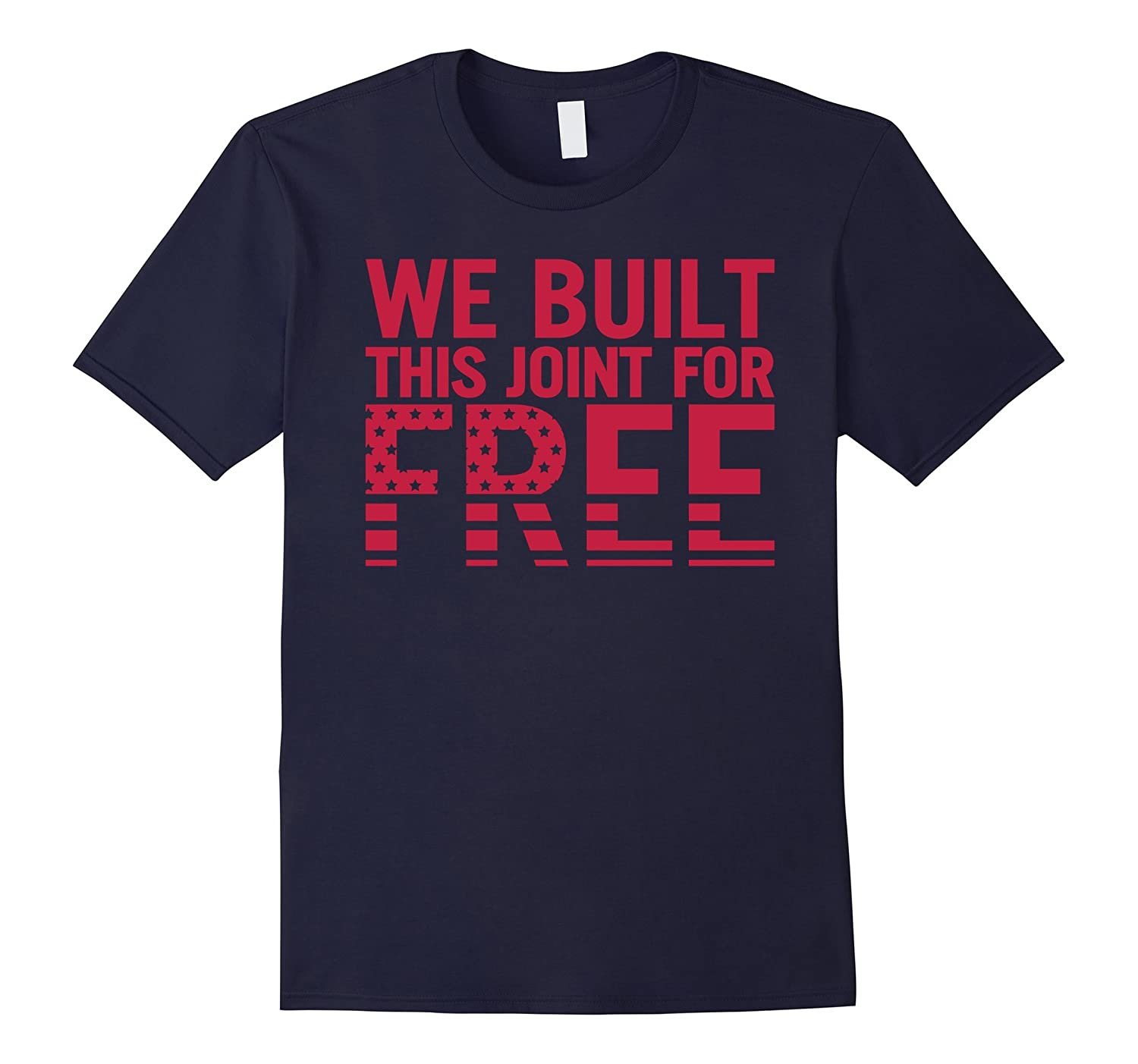 Angela Rye We Built This Joint For Free T-Shirt-CD