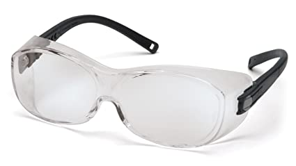 522eaf8bba5 Amazon.com  Pyramex OTS Over Prescription Glasses Safety Glasses for ...