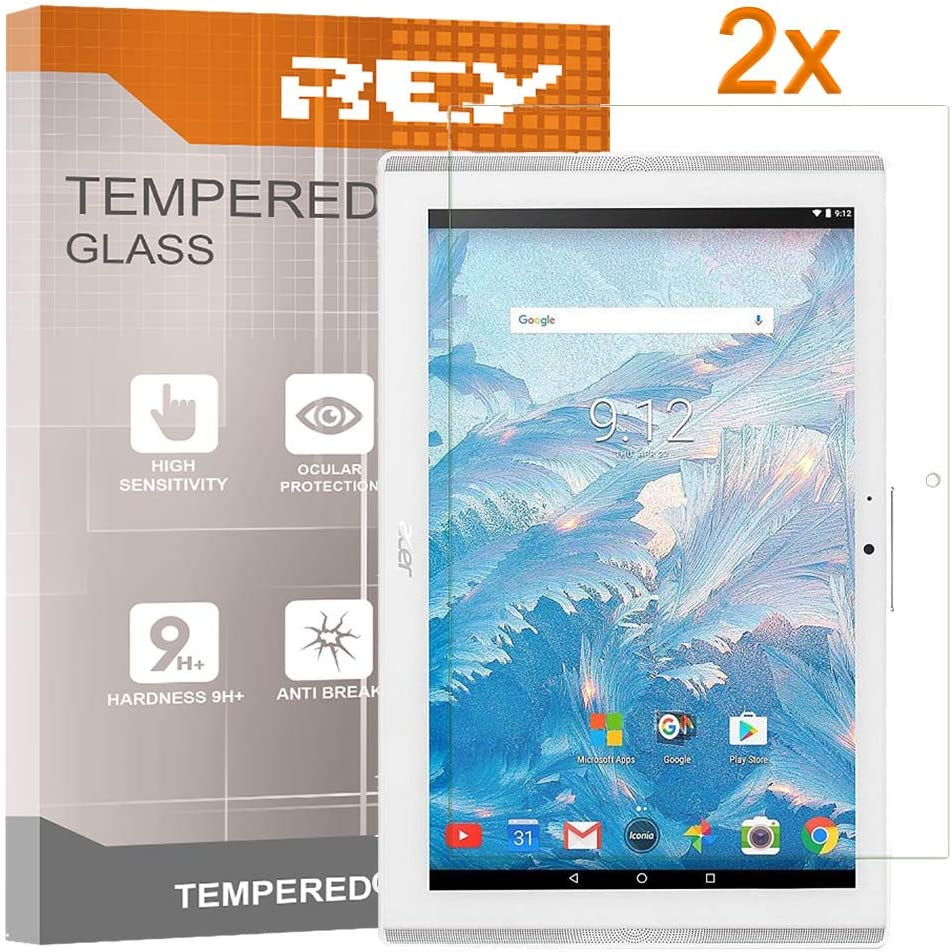 Pack 2x Screen Protector for ACER ICONIA ONE 10 B3-A40 10.1 Premium quality Tempered glass King Electronics/®