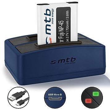 JX300 JX280 KAMERA AKKU-LADEGERÄT MICRO USB für FUJI Fujifilm FinePix JX200