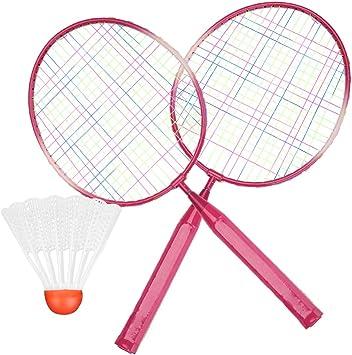 VGEBY1 Raquetas de bádminton para niños, Raqueta de práctica de ...