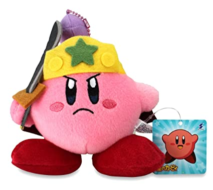 Amazon.com: Kirby Mini Plush Doll con cadena de bolas – 5.5 ...