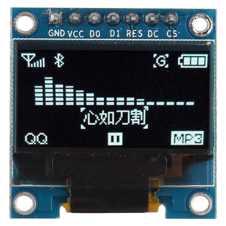 0 96 Inch White Spi I2c Iic Oled Serial 128X64 Lcd Led