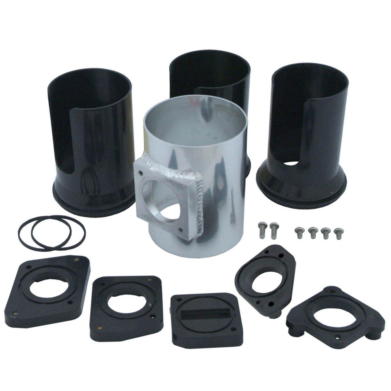 Spectre Performance 9405 3 Aluminum Mass Air Flow Rx8 Fuel Filter Location Sensor Kit Automotive