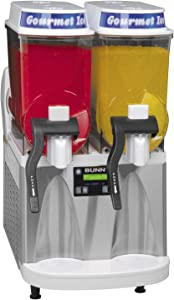 Bunn 34000.0079 ULTRA-2 High Performance Frozen Beverage System with 2 Hoppers, White