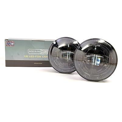 Morimoto Type T2 Black LED Fog Light, 2 Pack: Automotive