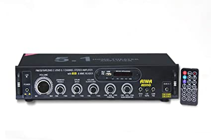VNR AIWA 5.1 Home Theater Amplifier Connect 5 Spk: Amazon.in ...