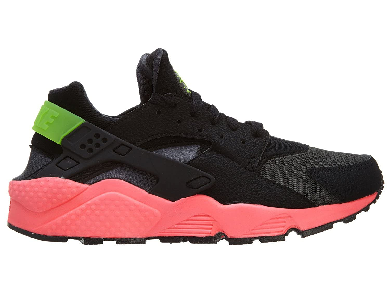 b27faddca281 Nike Men s - Air Huarache  RARE  Anthracite Black-Hyper Punch-Electric  Green  Amazon.co.uk  Shoes   Bags