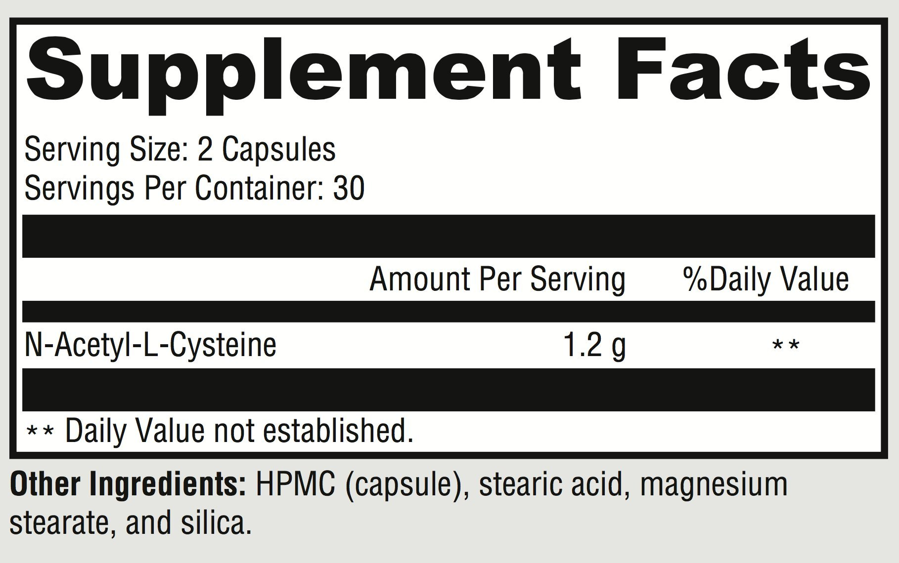 NAC Supplement 600mg | Nacetylcysteine for Liver Detoxification, Lung  Health, Liver Support and Glutathione - My Physical Well Being