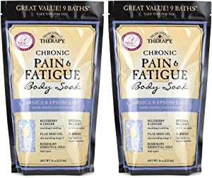 Village Naturals Therapy, Chronic Pain Relief, Bath Soak, 36 oz, Pack of 2