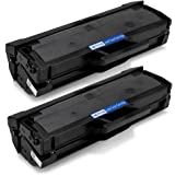 Office World Compatible Toner Cartridge Replacement for Samsung 111S MLT-D111S (Black, 2-Packs),Compatible with Samsung SL-M2020W SL-M2070W/FW