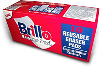 "product image for Brillo Stain Eraser Pad, 10 Pack Box, BE1210, 1"" x 3"" x 5"" size"