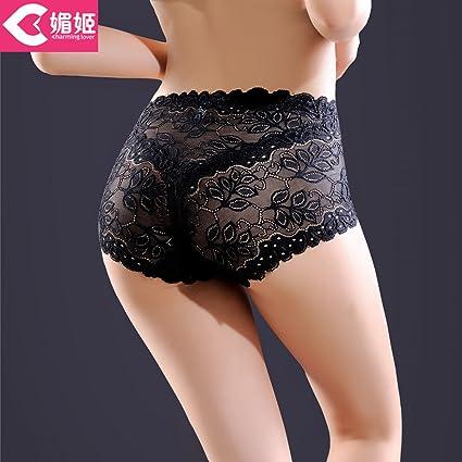 RRRRZ*Artículo 3 procesador mayor Sra. Lei seda ropa interior sexy ropa interior femenina