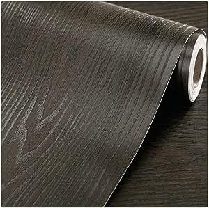 DWIND D1083 Peel and Stick Wallpaper Wood Grain Contact Paper Self Adhesive For Furniture Kitchen Countertop Table Door DIY Chalkboard 1.48ft x 9.8ft