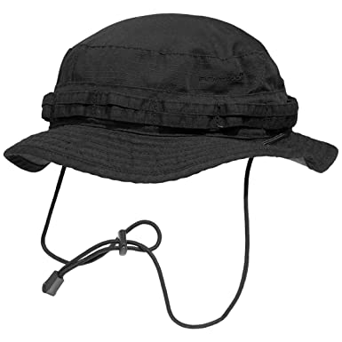 Amazon.com  Pentagon Babylon Boonie Hat Black  Clothing 98858ab78c7