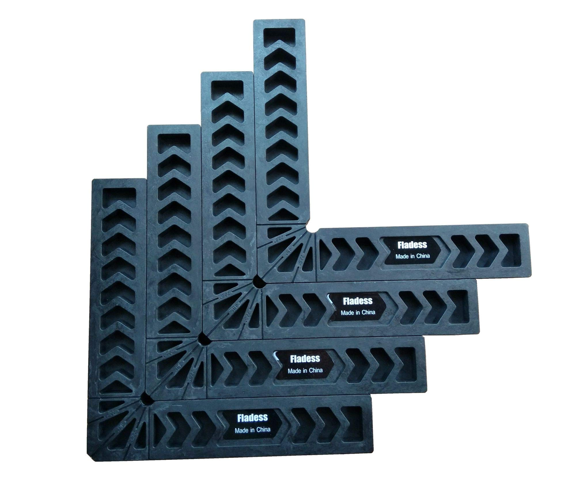 Fladess 90 Degree Position Squares (set of 4, 8 Inch)