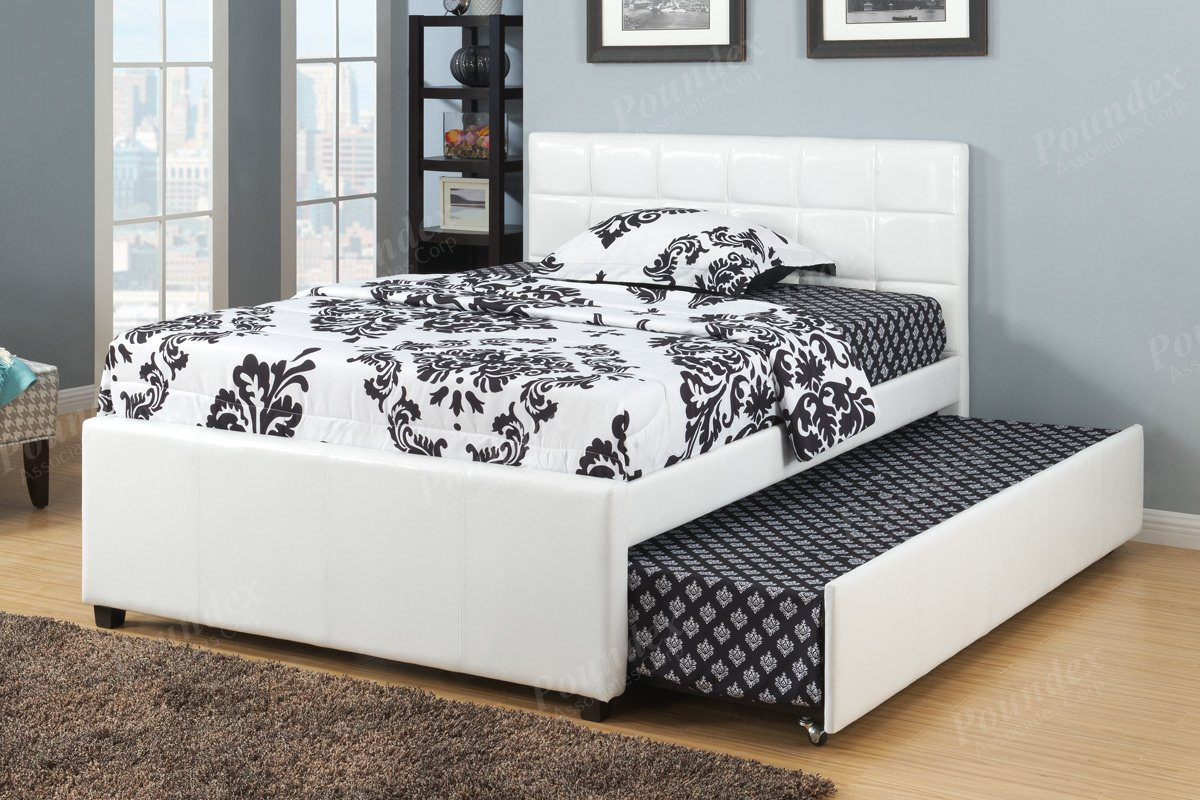 furniture twin bed frame wood trundle design ideal home