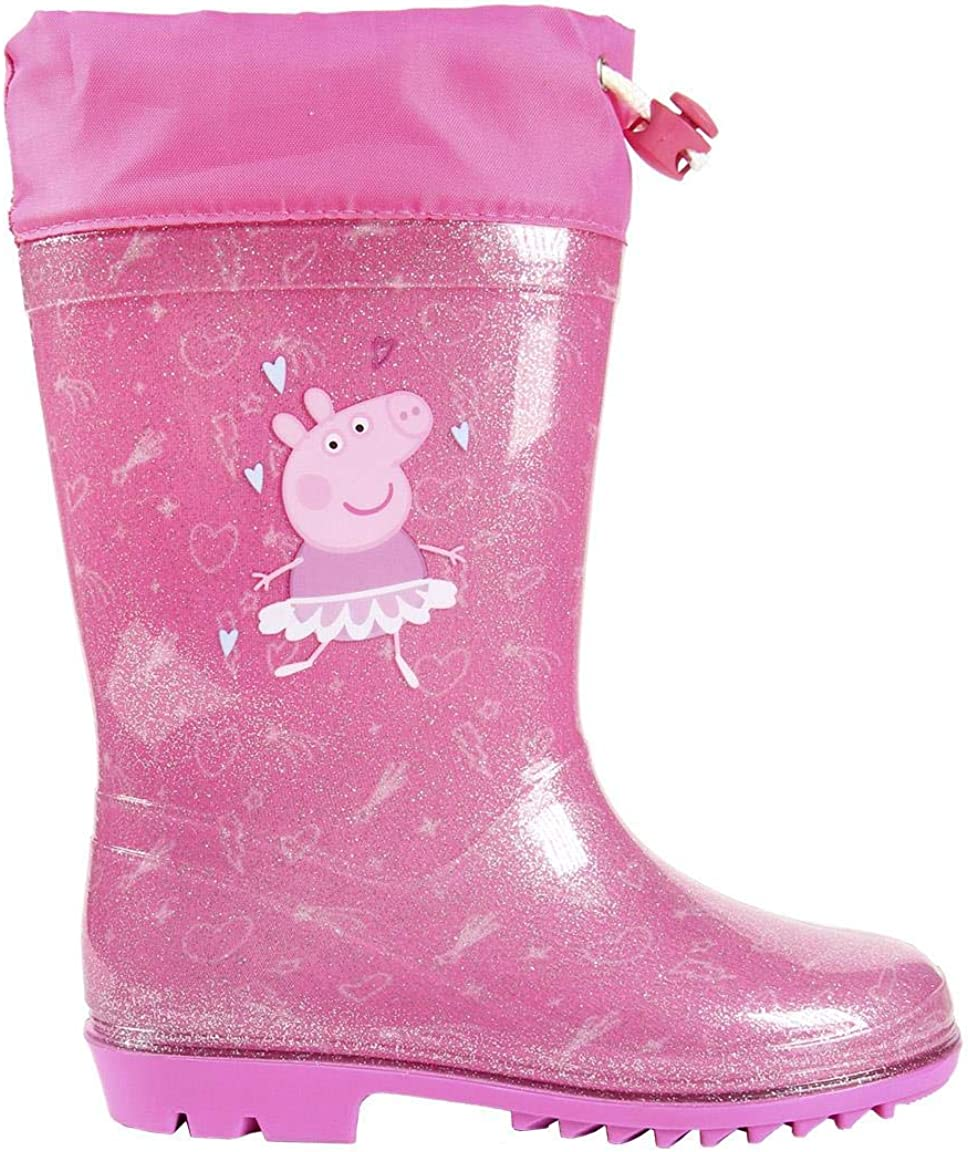 Stivali in Gomma Unisex Cerd/á Botas Lluvia PVC Peppa Pig Bambini