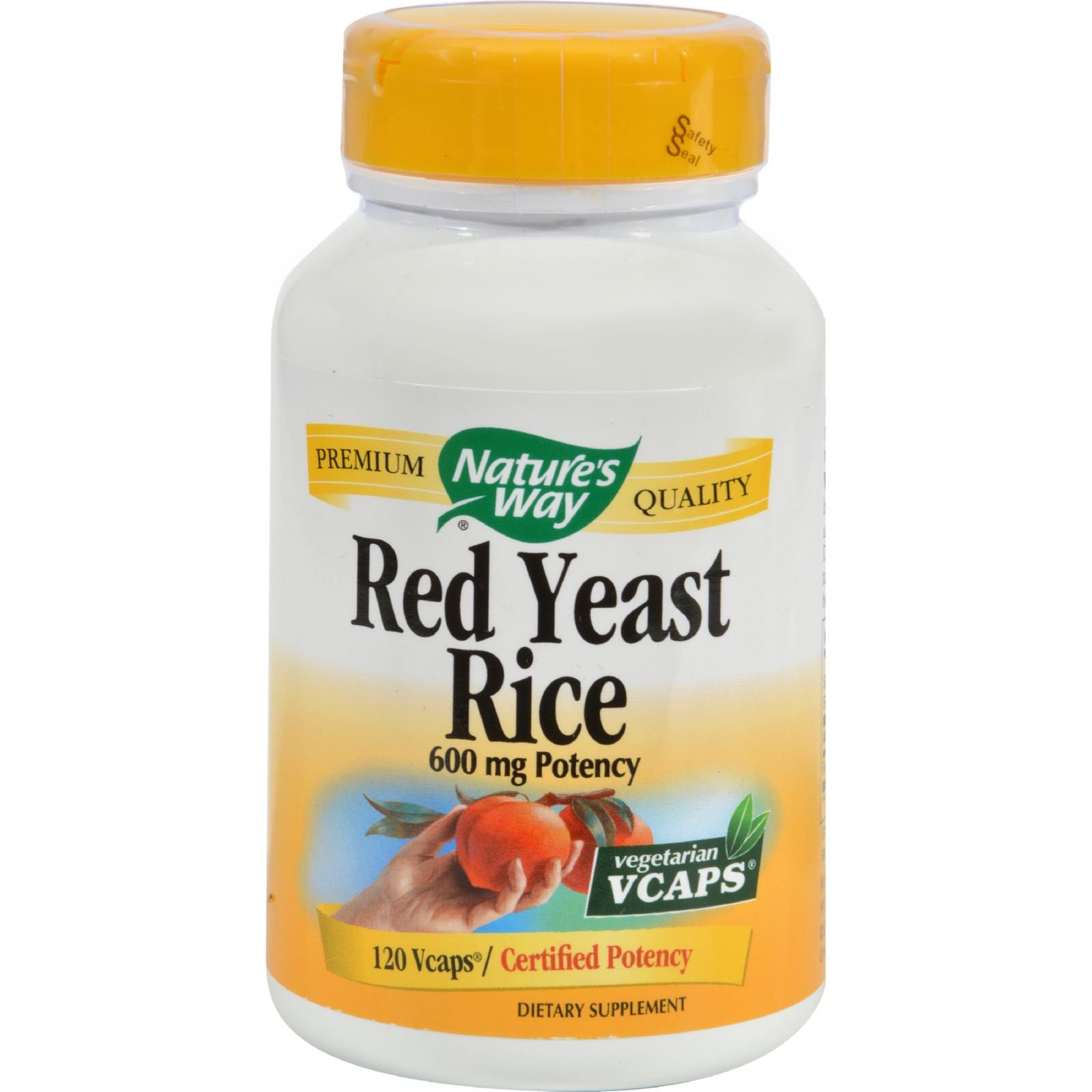 2Pack! Nature's Way Red Yeast Rice - 120 Vegetarian Capsules