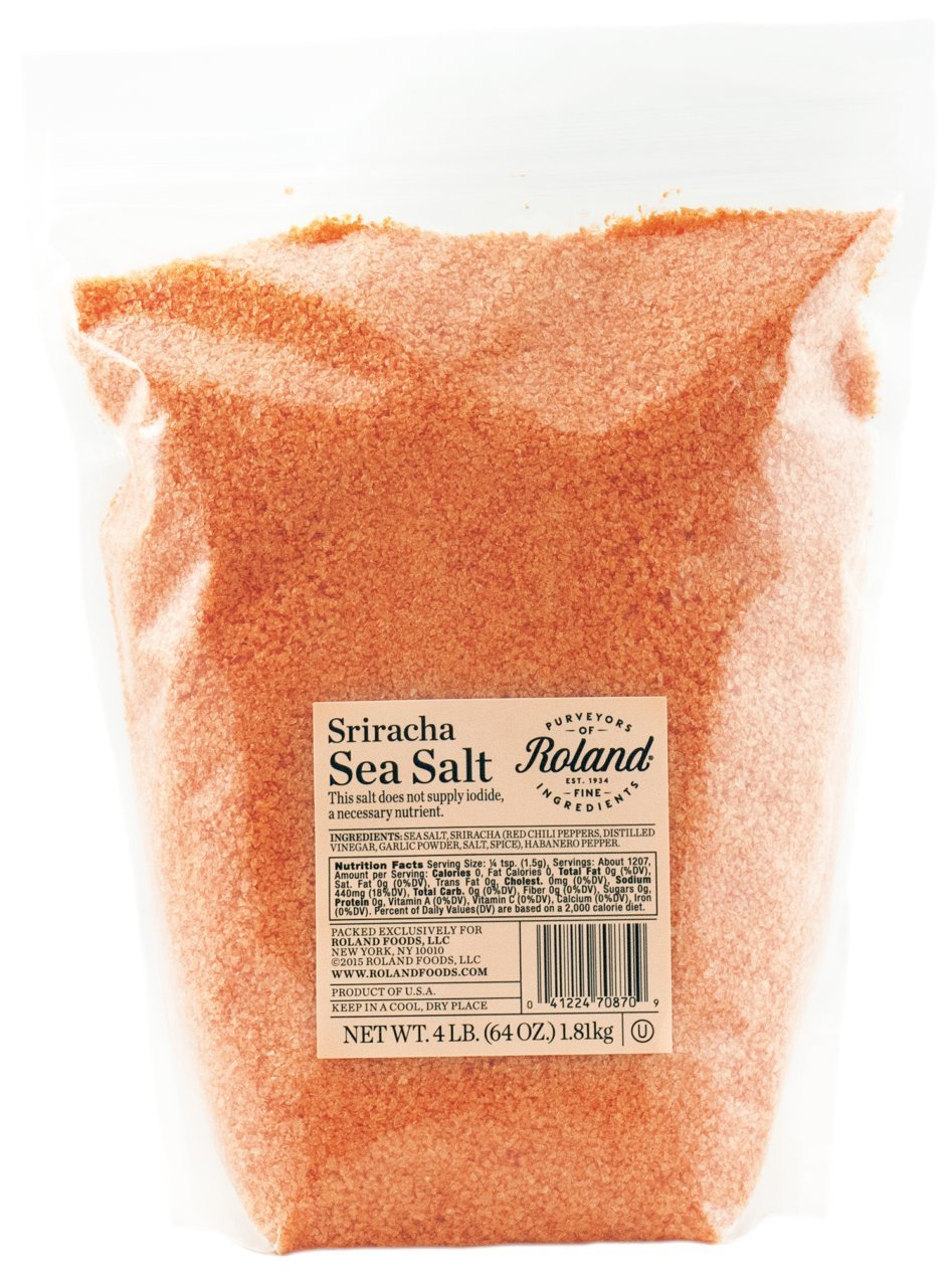 Roland Foods Sea Salt, Sriracha, 4 Pound