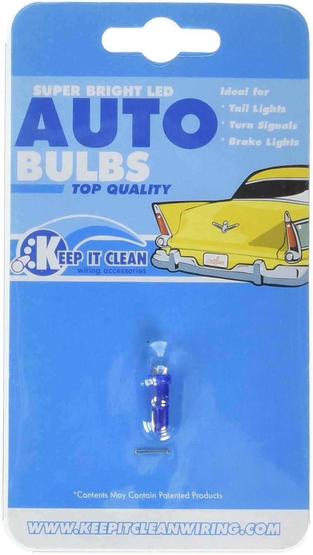 Keep It Clean 10795 LED Wedge Bulb Super Bright Green T5,74 Led 12v Wedge Bulb