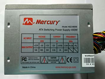 Amazon.in: Buy MERCURY KEZM200 SMPS Computer Power Supply Online at ...