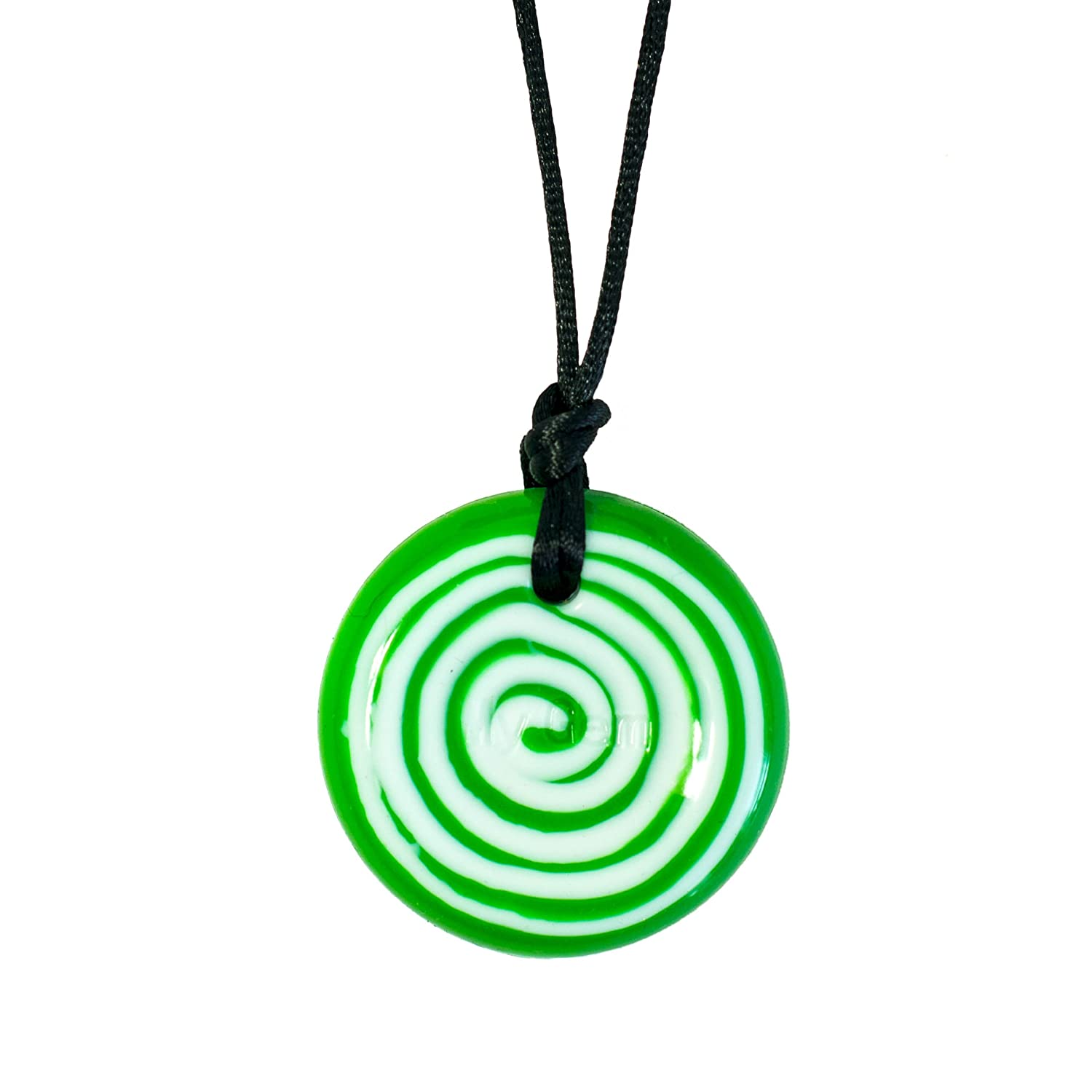 copy chewy on necklace pendant chew sensorysuperheroes products tear of drop