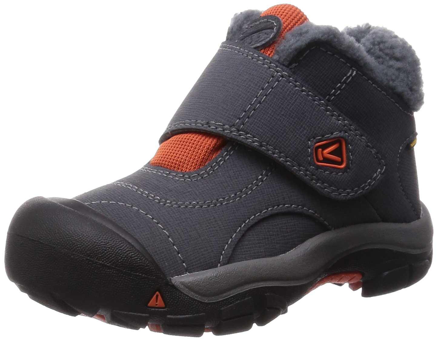 KEEN Kootenay Waterproof Winter Boot (Toddler/Little Kid), Magnet/Koi, 10 M US Toddler