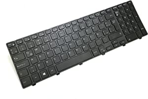 Genuine OEM Dell 71M2C SPANISH LATIN Keyboard Inspiron 15 5000 Series 3541 3542 3543 5547 5548 5552 5748 5749 5755 5758 5759 5555 5558 Laptop Teclado NSK-LR0SW 1E 490.00H07.0D1E Espanol MP-13N7
