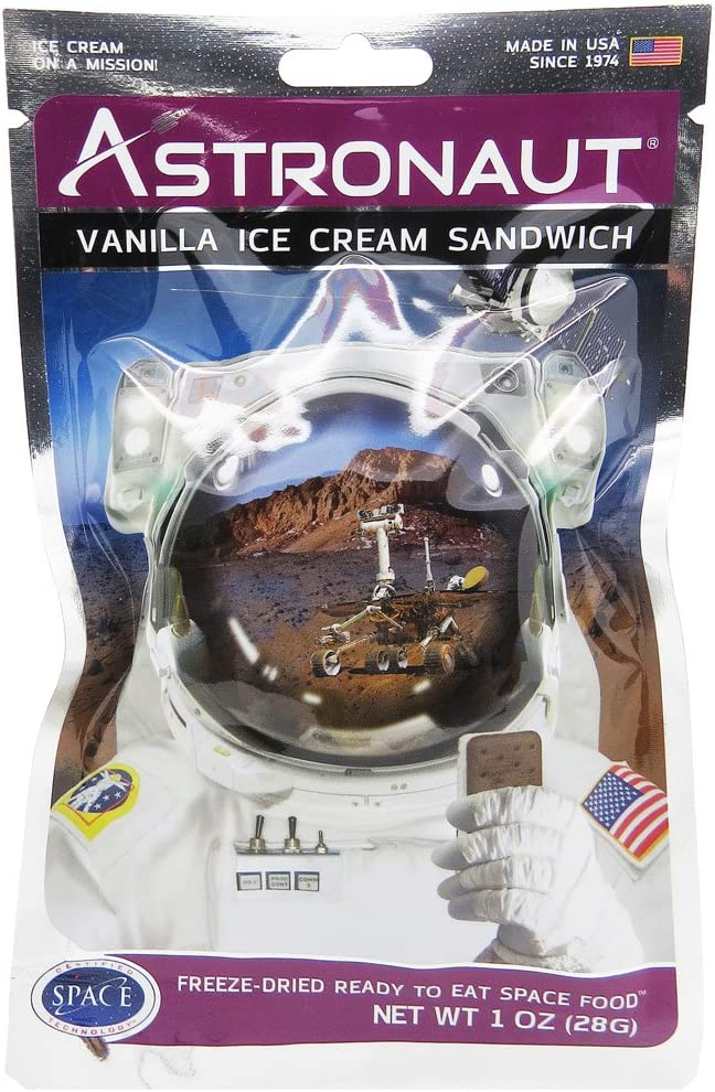 Astronaut Vanilla Ice Cream Sandwich ( Pack of 3 )