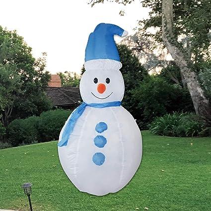 Amazon.com: kemperking Navidad Muñeco de nieve inflable 5 ...