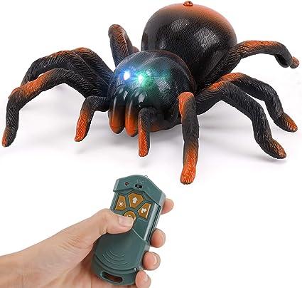 Remote Control 4CH RC Tarantula Spider Scary Toy