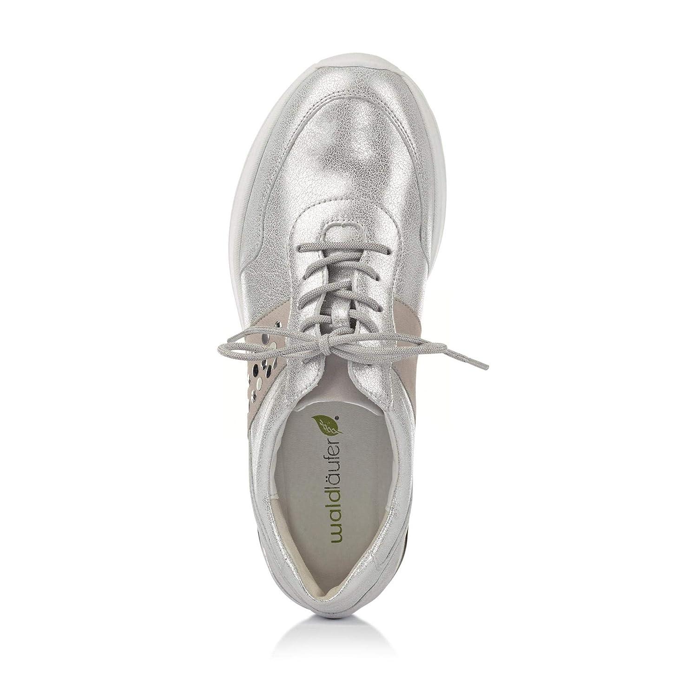 Waldläufer Sneaker H-Clara Soft H-Weite Wechselfußbett 939H01-200//555