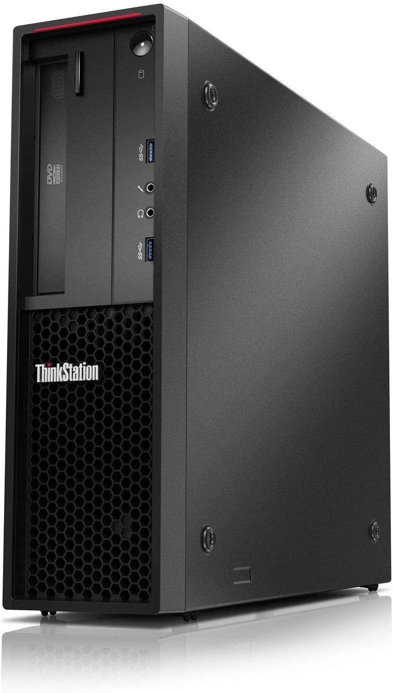 Lenovo ThinkStation P310 SFF Desktop (Intel Core i5-6500 3.2Ghz Processor, 8GB DDR4 2133MHz Memory, 500GB HDD, DVD-RW) - Black