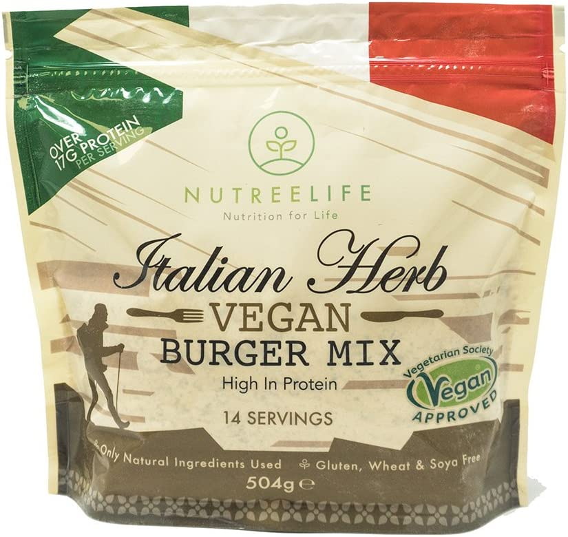 NutreeLife Vegan Burger Mix