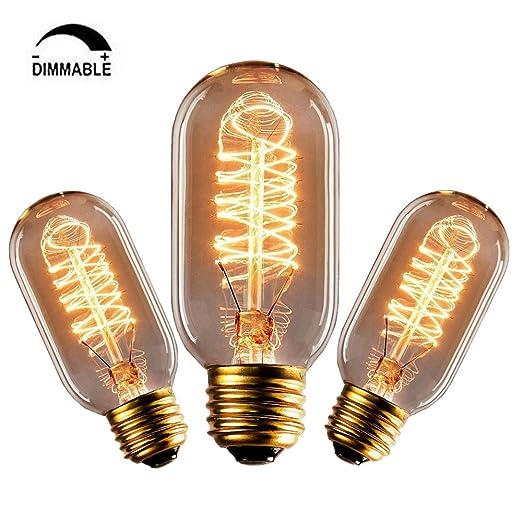 14 opinioni per CMYK 60w Vintage lampadina- con gabbia filamento (vecchio Edison) Vite E27